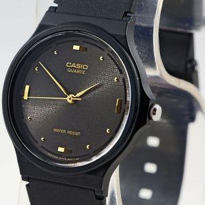 Casio Resin Band Watch Water Resist Elegant